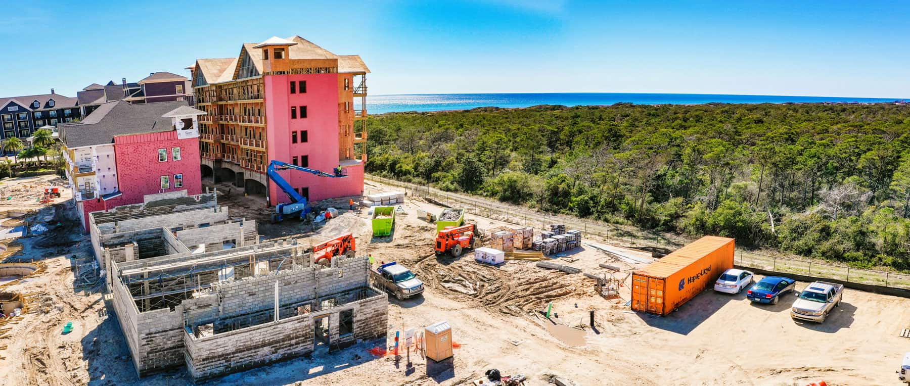 Parkside construction progress photo