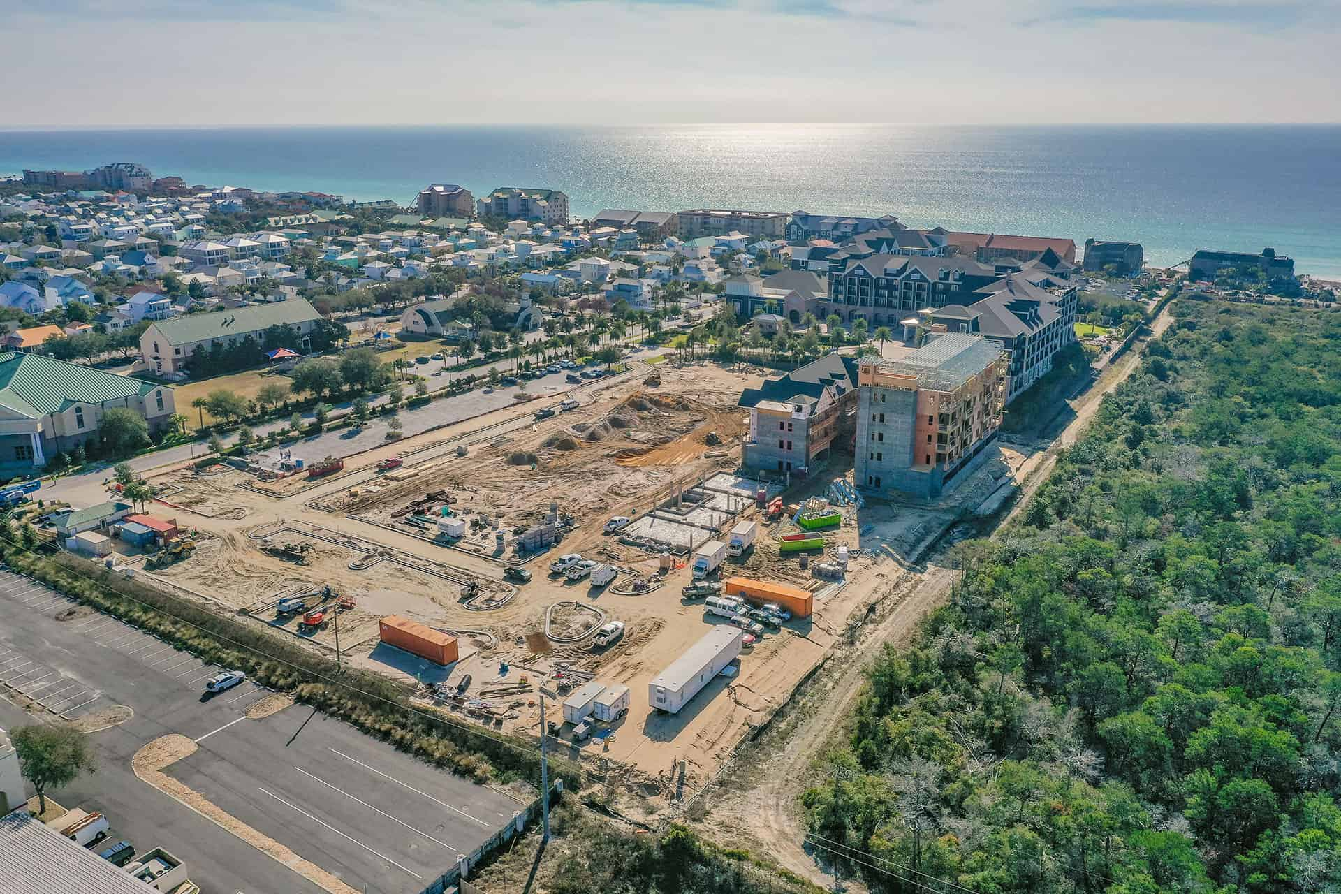 Parkside_at_Henderson_Beach_Resort_January_2021 drone photo looking southeast